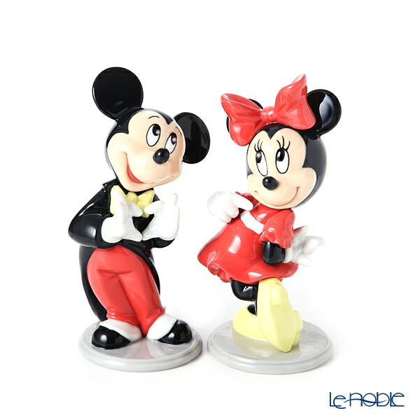 【ポイント10倍】リヤドロ ミッキーマウス 09079 & ミニーマウス 09345 ペア リアドロ LLADRO 記念品 置物 オブジェ 人形 フィギュリン インテリア