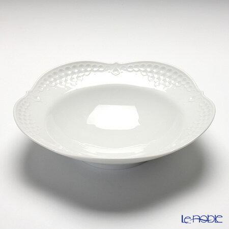 マイセン (Meissen) ホワイトレリーフ 000001/26488 スーププレート 23cm 白 深皿 カレー パスタ お皿 食器 ブランド 結婚祝い 内祝い