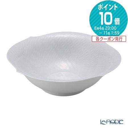 マイセン (Meissen) 波の戯れホワイト 000001/29441 ボウル 27cm 白 食器 ブランド 結婚祝い 内祝い