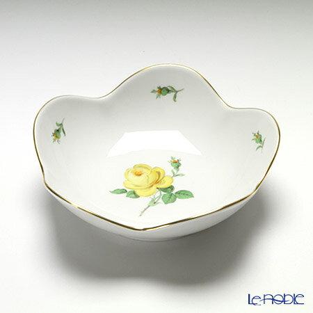 マイセン (Meissen) 黄色のバラ 020610/53631 ボウル 14cm 食器 ブランド 結婚祝い 内祝い