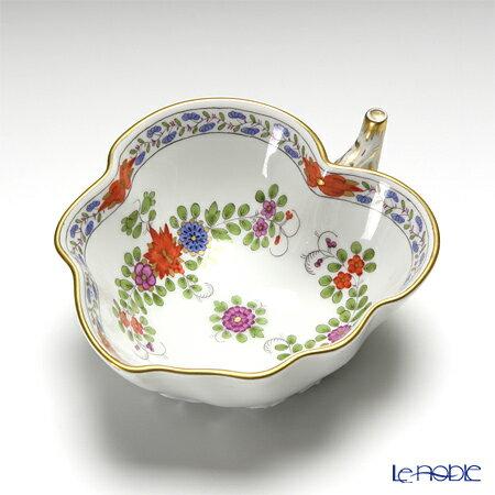 マイセン (Meissen) インドの華 多彩 451110/00206 リーフボウル 10×8cm プレート 皿 お皿 食器 ブランド 結婚祝い 内祝い