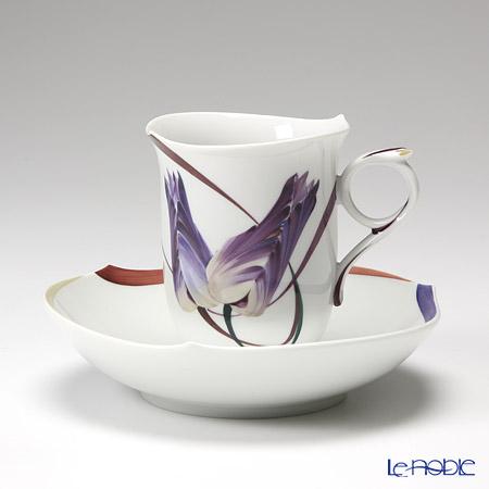 マイセン (Meissen) ユーゲント 614601/28582 コーヒーカップ&ソーサー 180cc コーヒ―カップ おしゃれ かわいい 食器 ブランド 結婚祝い 内祝い