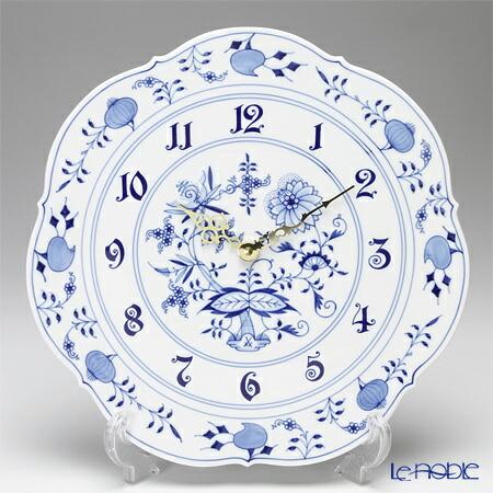マイセン (Meissen) ブルーオニオン 801801/53m04 掛け時計 30cm 壁掛け 壁掛け時計 おしゃれ
