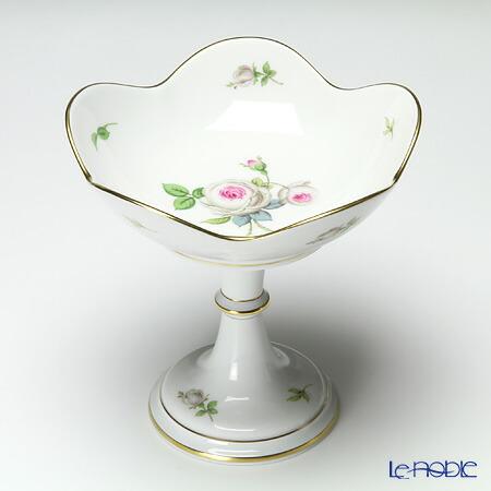 マイセン (Meissen) ホワイトローズ 029510/54721 コンポート 15cm プレート 皿 お皿 食器 ブランド 結婚祝い 内祝い