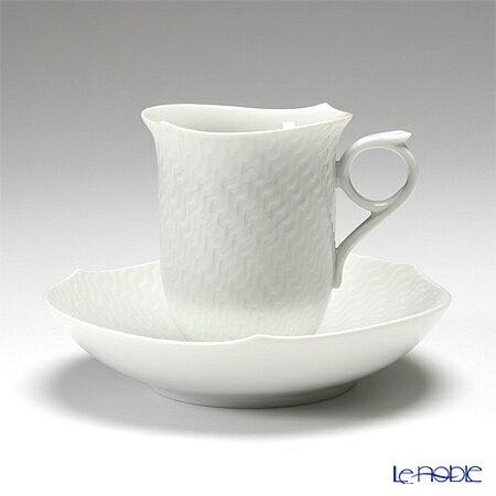 波の戯れ 波の戯れホワイト 白 コーヒ―カップ おしゃれ かわいい 食器 ブランド 結婚祝い 29582 内祝い ソーサー 安売り Meissen 180cc 新色追加 コーヒーカップ 000001 マイセン