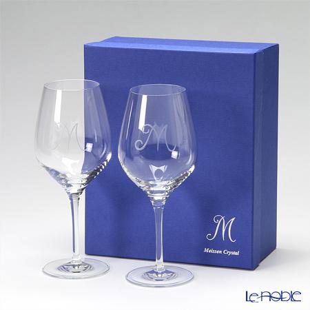 マイセン(Meissen) マイセンクリスタル M 38102 ワイングラス 21.5cm ペア【楽ギフ_包装選択】 兼用 食器 おしゃれ ブランド