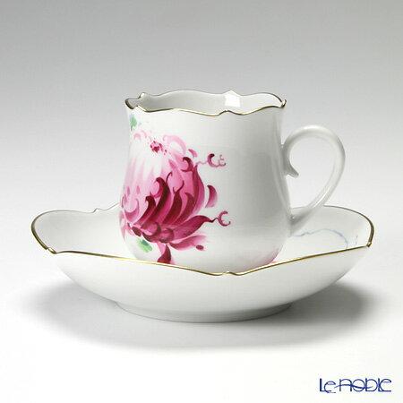 マイセン (Meissen) パープル菊 610710/23582 コーヒーカップ&ソーサー 150cc【楽ギフ_包装選択】 コーヒ―カップ 食器 おしゃれ ブランド