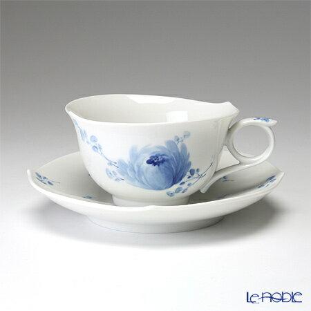 マイセン (Meissen) 青い花 614701/28633 ティーカップ&ソーサー 170cc【楽ギフ_包装選択】【楽ギフ_名入れ】 コーヒーカップ カップアンドソーサー 引き出物 結婚祝い 食器