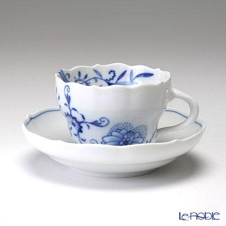 マイセン (Meissen) ブルーオニオン スタイル 801001/00582 コーヒーカップ&ソーサー 200cc ブルーオニオンスタイル ティーカップ おしゃれ かわいい 食器 ブランド 結婚祝い 内祝い