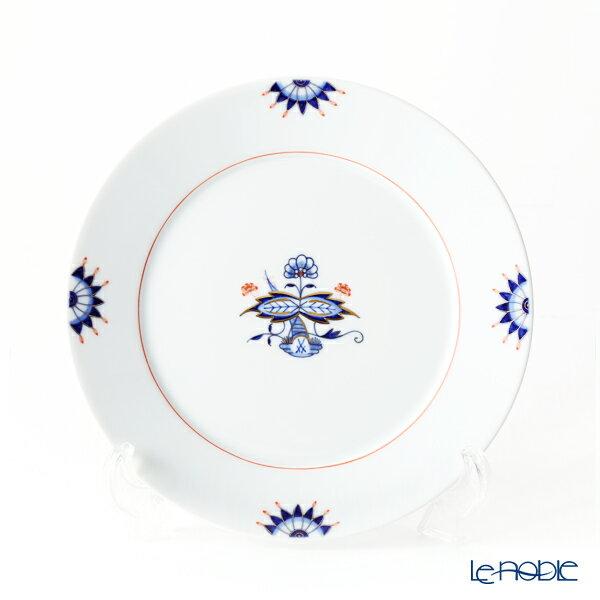 マイセン (Meissen) ノーブルブルー 802790-41473 デザートプレート(ダブルリーフ)【楽ギフ_包装選択】 皿 引き出物 結婚祝い 食器