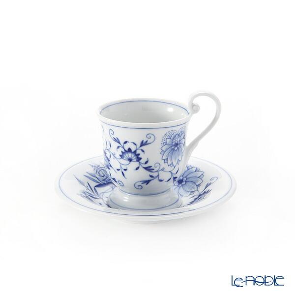マイセン (Meissen) ブルーオニオン 800101/13582 ホットチョコレートカップ&ソーサー コーヒ―カップ おしゃれ かわいい 食器 ブランド 結婚祝い 内祝い