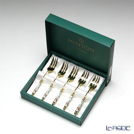 ハドンホール カトラリーセット お祝い 結婚祝い 食器 ブランド 内祝い ミントン メーカー再生品 AL完売しました。 ケーキフォーク 5本セット HH002G-CF