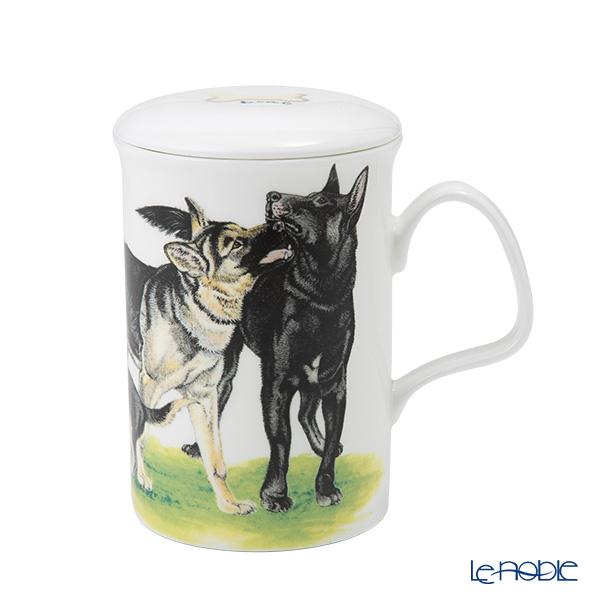 Alsatian Dog Fine Bone China Mug Cup Beaker