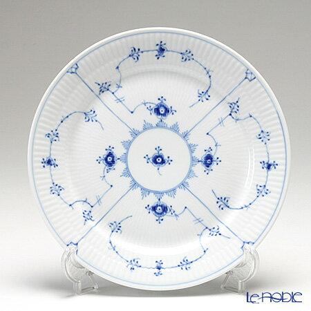 ロイヤルコペンハーゲン (Royal Copenhagen) ブルー フルーテッド プレイン プレート(フラット) 25cm 1101625【楽ギフ_包装選択】【楽ギフ_名入れ】 北欧 ブルーフルーテッド 皿 食器 おしゃれ ブランド