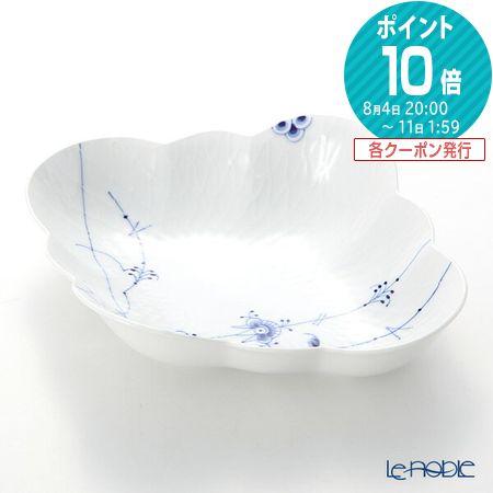 ロイヤルコペンハーゲン (Royal Copenhagen) ブルーパルメッテ フラワーボウル 26×22.5×H6.5 2500578【楽ギフ_包装選択】 北欧 プレート 皿 食器 おしゃれ ブランド