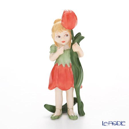 ロイヤルコペンハーゲン (Royal Copenhagen) フィギュリン 花の妖精 Corallina H7.5cm 5249254 北欧 クリスマス 置物 オブジェ 人形 インテリア