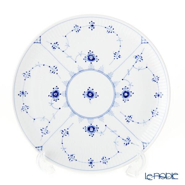ロイヤルコペンハーゲン (Royal Copenhagen) ブルー フルーテッド プレイン クーププレート 23cm 1101733【楽ギフ_包装選択】 北欧 ブルーフルーテッド 皿 食器 おしゃれ ブランド