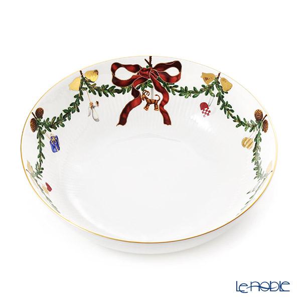 ロイヤルコペンハーゲン (Royal Copenhagen) スターフルーテッド ボウル 24cm 2503579/1017452 北欧 クリスマス 食器 ブランド 結婚祝い 内祝い