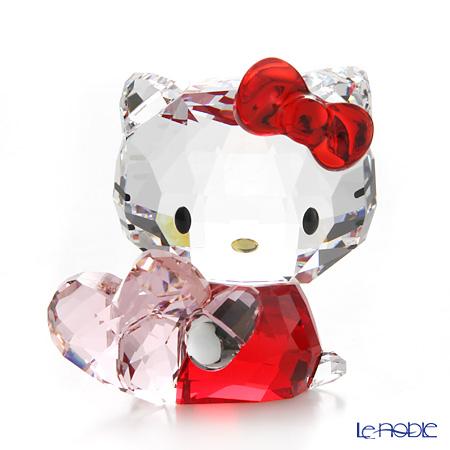 スワロフスキー Hello Kitty Pink Heart SWV5-135-886【楽ギフ_包装選択】 置物 オブジェ フィギュリン インテリア