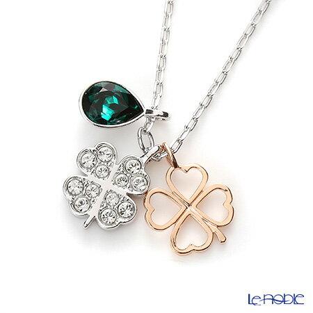 f643ca5b9 le-noble: Swarovski pendant Duo Clover SW5139471 Swarovski necklace ...