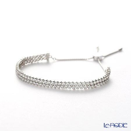 le-noble  SW5221397 Swarovski bracelet Subtle Silver (clear ... 5426db154d69