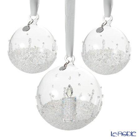スワロフスキー クリスマスボール オーナメントセット SWV5-268-012 17AW(2017年度限定生産品) Swarovski 飾り 装飾