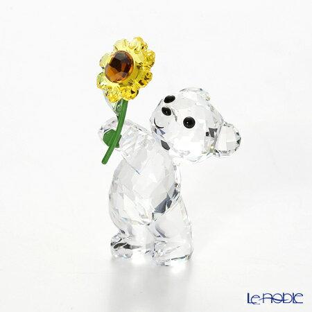 スワロフスキー Kris Bear A Sunflower for You SWV5-268-764【楽ギフ_包装選択】 クリスベア フィギュリン 置物 オブジェ インテリア