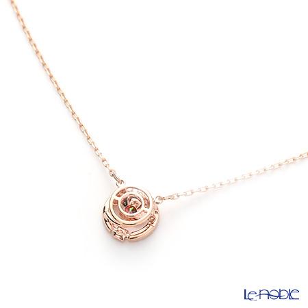 9cdce77d28e55 Swarovski necklace sparkling dance round (Rose gold / red) SW5279421  Swarovski party