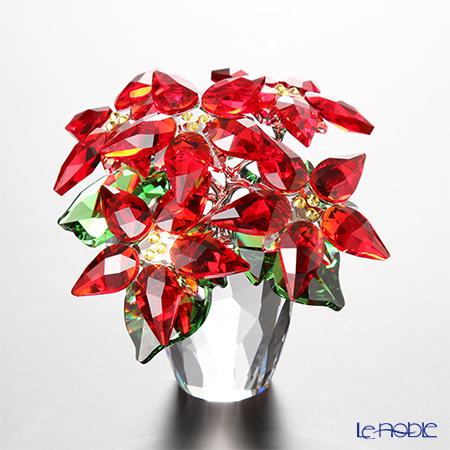 スワロフスキー ポインセチア(L) SWV5-291-024 17AW Swarovski クリスマス 置物 オブジェ インテリア