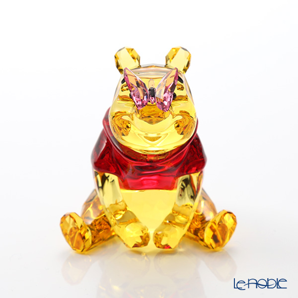 f77cd4e46990a Swarovski Winnie-the-Pooh and butterfly SWV5-282-928 18SS Swarovski Disney  Disney ornament オブジェフィギュリンインテリア