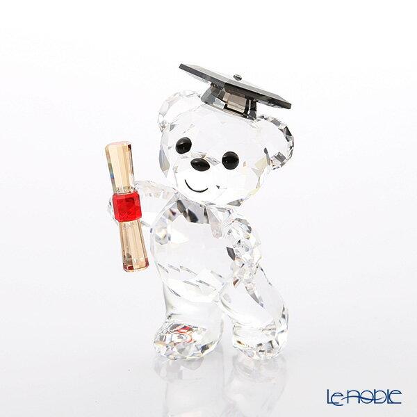スワロフスキー Kris Bear Graduation SWV5-301-572 18SS Swarovski クリスベア 置物 オブジェ 人形 フィギュリン インテリア