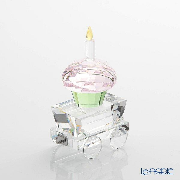 スワロフスキー カップケーキのワゴン SWV5-377-674 18SS Swarovski 置物 オブジェ インテリア