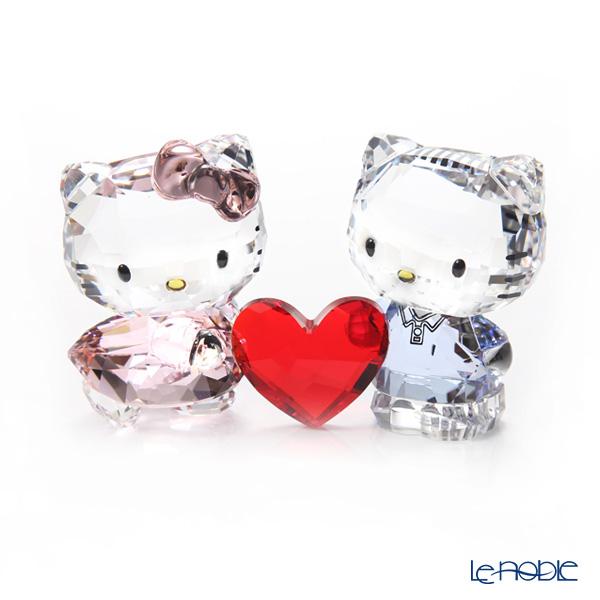 スワロフスキー Hello Kitty & Dear Daniel SWV5-428-570 19SS Swarovski 置物 オブジェ フィギュリン インテリア