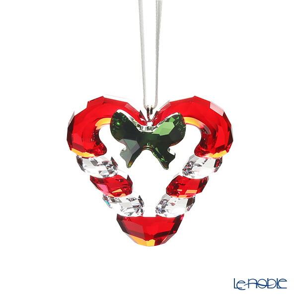 スワロフスキー キャンディーケイン(キャンディーケーン)ハート オーナメント SWV5-403-314 19AW Swarovski クリスマス 飾り 装飾