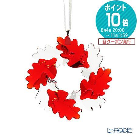 スワロフスキー リース オーナメント リーフ SWV5-464-866 19AW トード・ボーンチェデザイン Swarovski クリスマス 飾り 装飾