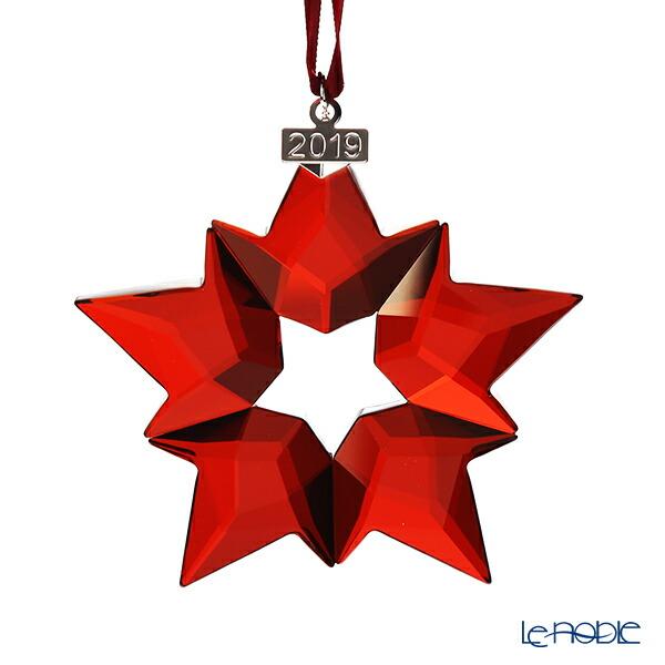 スワロフスキー クリスマスオーナメント レッド SWV5-476-021 19AW(2019年度限定生産品) Swarovski 飾り 装飾