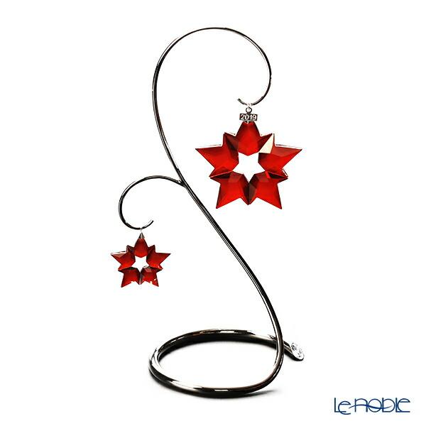 スワロフスキー クリスマスオーナメントセット レッド クリスマスオーナメント&リトルスターオーナメント 2019年度限定生産品 Swarovski 飾り 装飾