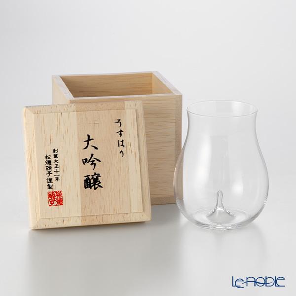 松徳硝子 ギフト 酒器 うすはり うすはりグラス 半額 ショットグラス 結婚祝い ぐい呑み 結婚祝い あす楽 木箱入 食器 内祝い ブランド 大吟醸
