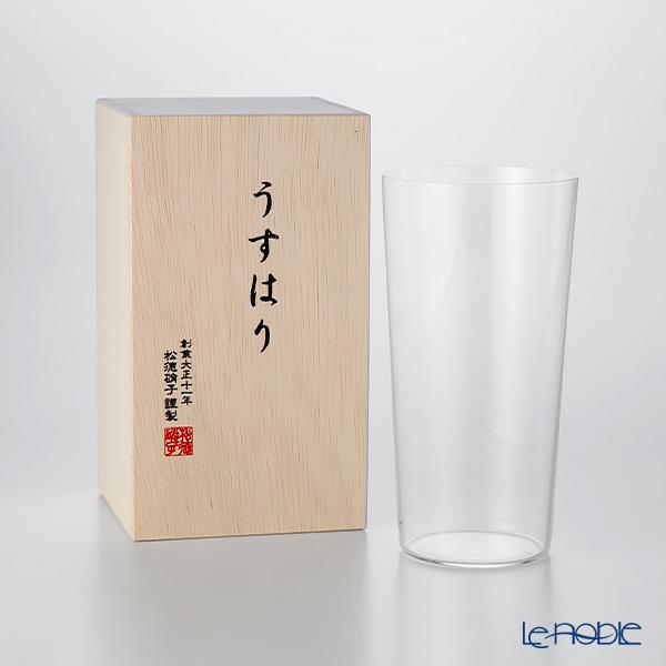 松徳硝子 ギフト 酒器 うすはり うすはりグラス タンブラー 新作多数 食器 新登場 木箱入 内祝い ブランド LL 結婚祝い あす楽