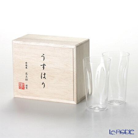 松徳硝子 ギフト 酒器 うすはり うすはりグラス タンブラー 開催中 食器 ブランド ペア SHIWA S 木箱入 送料無料カード決済可能 内祝い あす楽 結婚祝い 一口ビールグラス