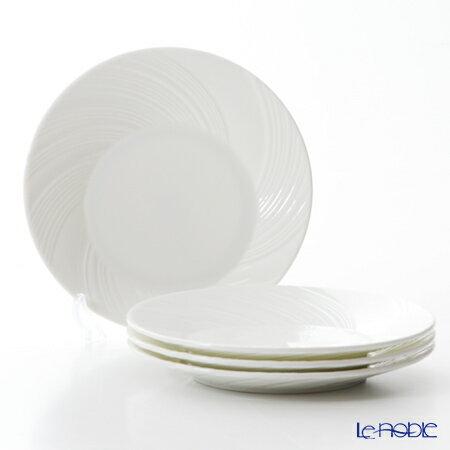 ウェッジウッド (Wedgwood) エスリアル101 プレート 28cm 4枚セット【楽ギフ_包装選択】 ウエッジウッド 結婚祝い お祝い 白 皿 食器 おしゃれ ブランド