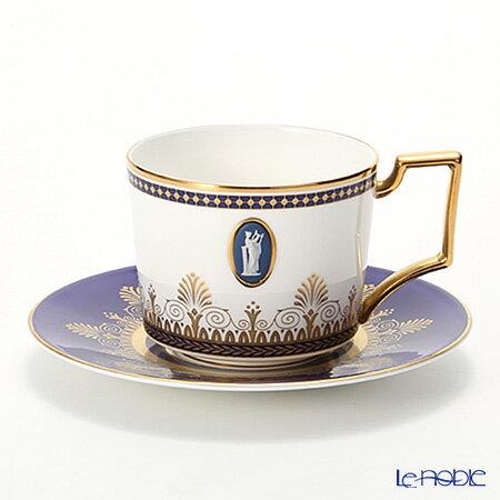 ウェッジウッド (Wedgwood) アンセミオンブルー ティーカップ&ソーサー 200cc カメオ ウエッジウッド 結婚祝い 内祝い お祝い おしゃれ かわいい 食器 ブランド