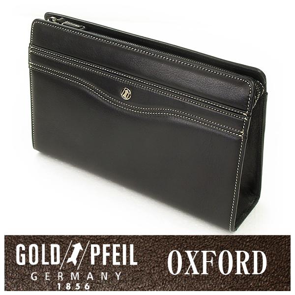 GOLD PFEIL 「ゴールドファイル」 オックスフォード セカンドバッグ 901206【楽ギフ_包装選択】