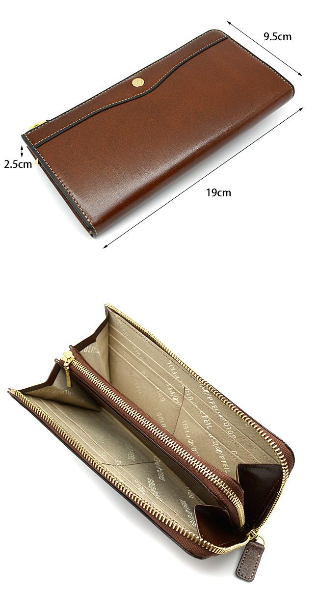 73310175d23c ... 送料無料】オックスフォード長財布(L字ファスナー)「ゴールドファイル」 ...