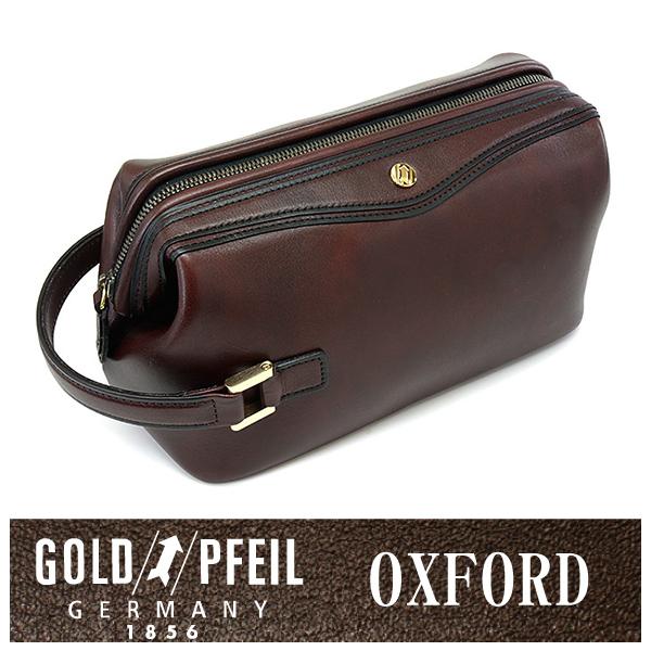 GOLD PFEIL 「ゴールドファイル」 オックスフォード セカンドバッグ 901202【バーガンディ】【楽ギフ_包装選択】