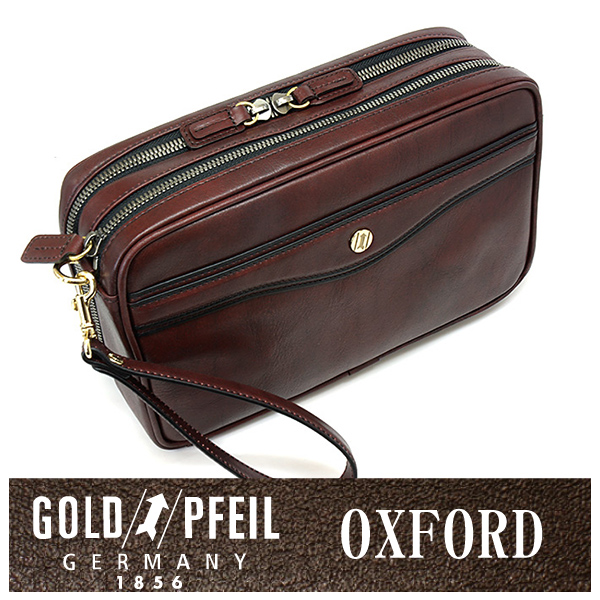 【送料無料】オックスフォード セカンドバッグ 「ゴールドファイル」 901203【バーガンディ】【楽ギフ_包装選択】