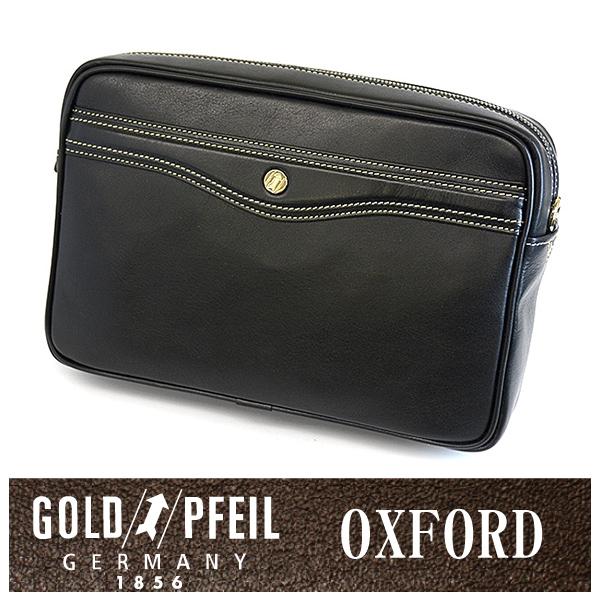GOLD PFEIL 「ゴールドファイル」 オックスフォード ショルダーバッグ 901207【クロ】【楽ギフ_包装選択】