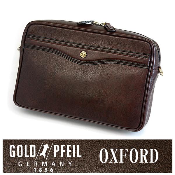 GOLD PFEIL 「ゴールドファイル」 オックスフォード ショルダーバッグ 901207【ワイン】【楽ギフ_包装選択】