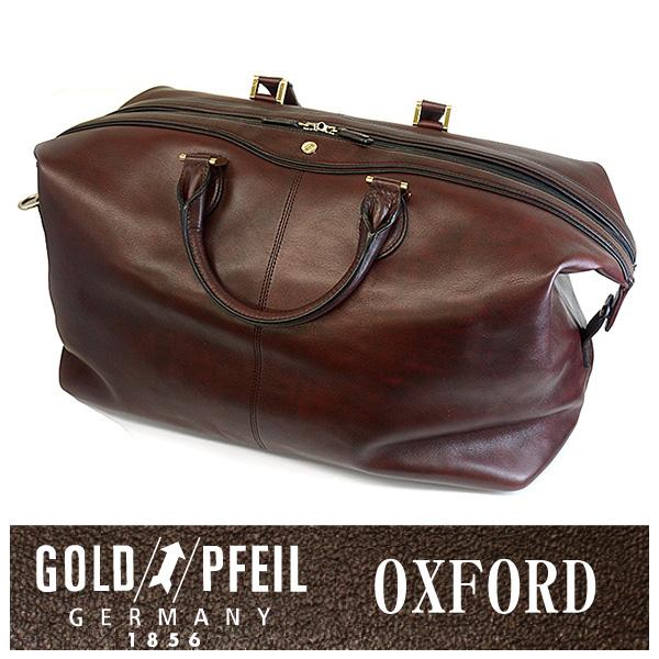 GOLD PFEIL 「ゴールドファイル」 オックスフォード ボストンバッグ 901301【ワイン】【楽ギフ_包装選択】