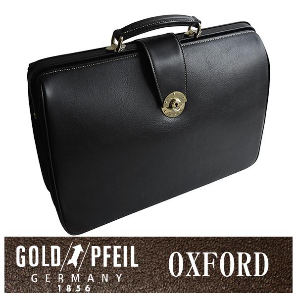 GOLD PFEIL 「ゴールドファイル」 オックスフォード ダレスバッグ 901506【ブラック】【楽ギフ_包装選択】